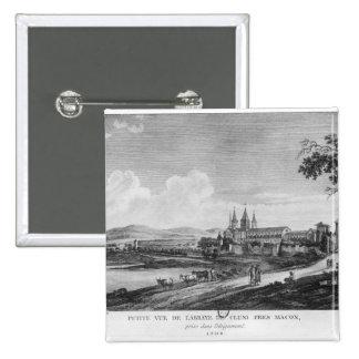 Vista de la abadía de Cluny Pin