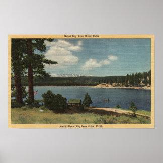 Vista de la bahía de la lechada de Dana Point Poster