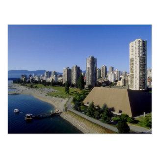 Vista de la bahía inglesa, Vancouver, Columbia Bri Postal