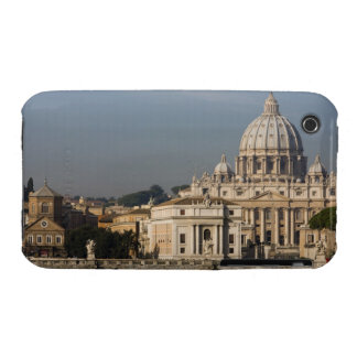 Vista de la bóveda de la basílica de San Pedro con iPhone 3 Case-Mate Cárcasa
