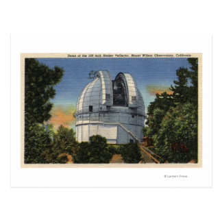 Vista de la bóveda del observatorio y del tarjetas postales