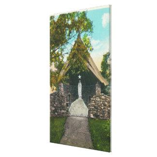 Vista de la capilla en el sanatorio en Gabriels Lona Envuelta Para Galerías