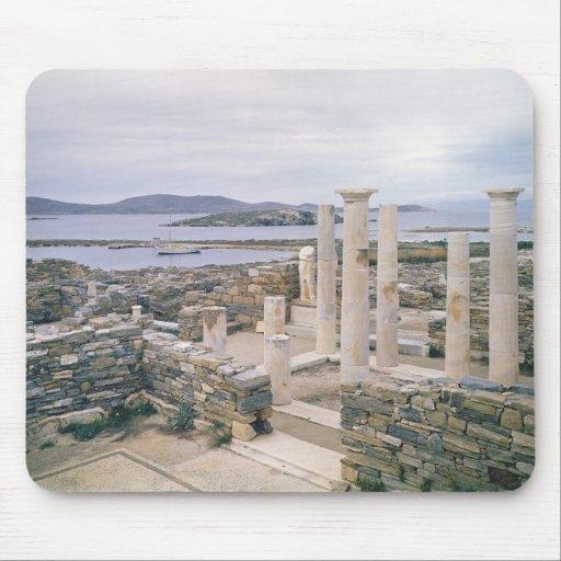 Vista de la casa de Cleopatra Mouse Pads