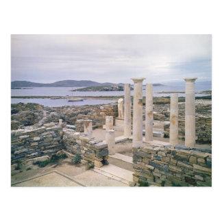 Vista de la casa de Cleopatra Tarjeta Postal