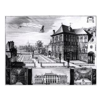 Vista de la casa de Hilwerue Postal