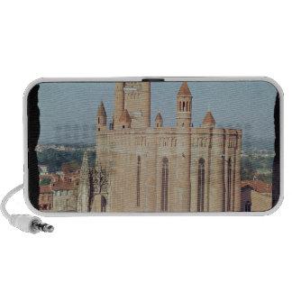 Vista de la catedral de Sainte-Cecile iPhone Altavoces