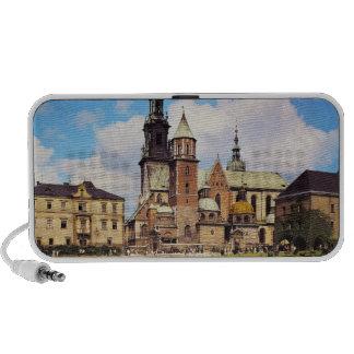 Vista de la catedral de Wawel iPhone Altavoces