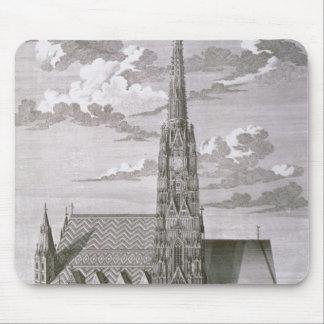 Vista de la catedral del St. Stephan Mouse Pads