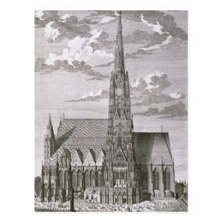 Vista de la catedral del St. Stephan Tarjetas Postales
