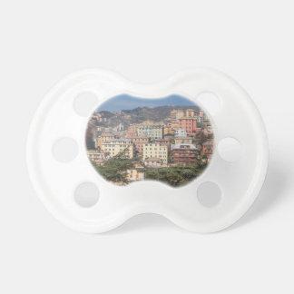 Vista de la ciudad de Génova Chupete De Bebé