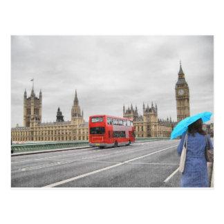 Vista de la ciudad de Londres en Inglaterra Reino Tarjetas Postales