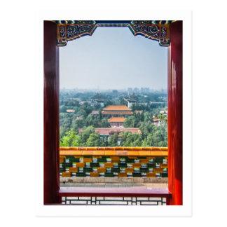 Vista de la ciudad Prohibida del Shan de Jing Postales