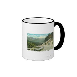 Vista de la colina Spruce antes del valle de Keene Taza A Dos Colores