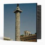 Vista de la columna de Trajan, ANUNCIO 113