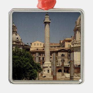 Vista de la columna de Trajan, ANUNCIO 113 Ornaments Para Arbol De Navidad