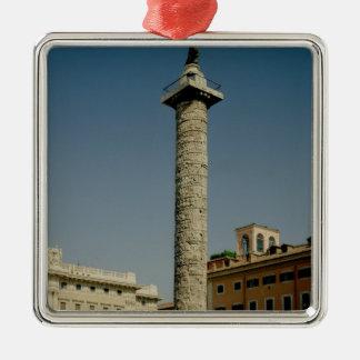 Vista de la columna de Trajan, ANUNCIO 113 Adornos