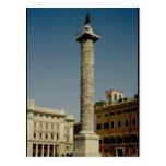 Vista de la columna de Trajan, ANUNCIO 113 Tarjeta Postal