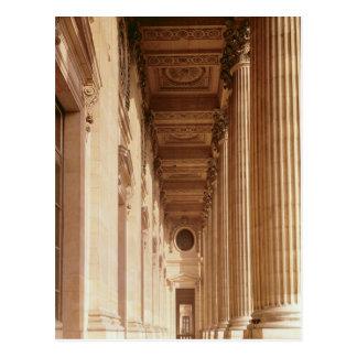 Vista de la columnata del Louvre Postales