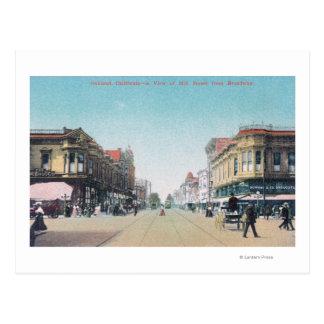 Vista de la décimotercero calle de postal