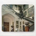 Vista de la escalera Pasillo, 1812-15 Tapete De Ratón