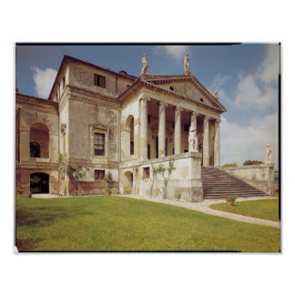 Vista de la fachada, c.1566-67 posters