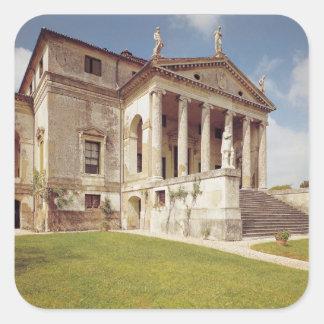Vista de la fachada, c.1566-67 colcomanias cuadradas
