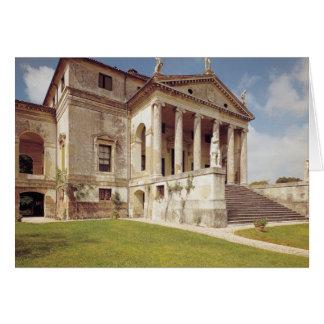 Vista de la fachada, c.1566-67 tarjeta de felicitación