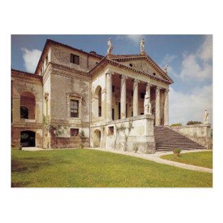 Vista de la fachada, c.1566-67 postal