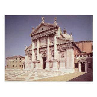 Vista de la fachada, construida 1607-11 tarjeta postal
