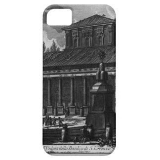 Vista de la fachada de la basílica de la cruz del iPhone 5 carcasas