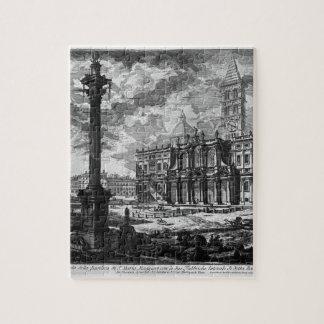 Vista de la fachada de la basílica del lat de St. Puzzles