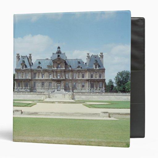 "Vista de la fachada del este de Chateau de Maisons Carpeta 1 1/2"""