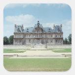 Vista de la fachada del este de Chateau de Maisons Pegatina Cuadrada