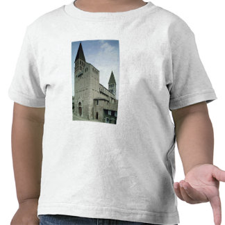Vista de la fachada del oeste, 10mo-11mo siglo camisetas
