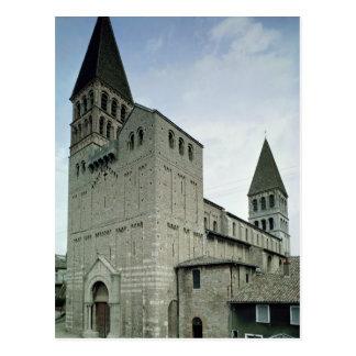 Vista de la fachada del oeste, 10mo-11mo siglo postal