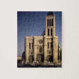 Vista de la fachada del oeste, c.1135 comenzado (f puzzle