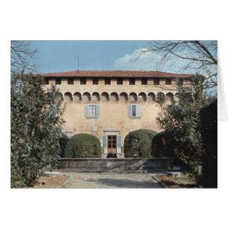 Vista de la fachada, diseñada para Cosimo Tarjeta De Felicitación