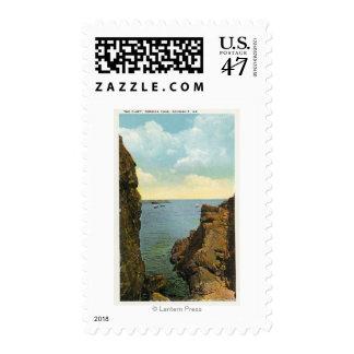 Vista de la hendidura en la ensenada de Perkins Sellos Postales