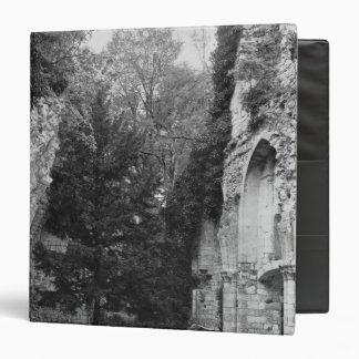 """Vista de la iglesia, c.1052-67 carpeta 1 1/2"""""""