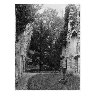 Vista de la iglesia, c.1052-67 tarjeta postal
