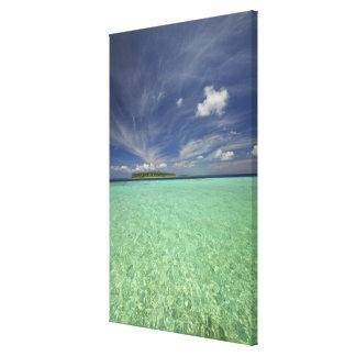 Vista de la isla de Funadoo de Funadovilligilli 2 Impresión En Lona Estirada