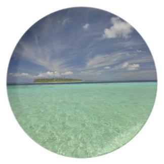 Vista de la isla de Funadoo de Funadovilligilli 2 Platos