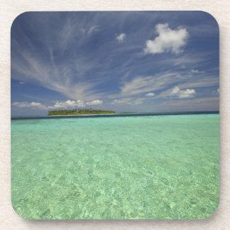 Vista de la isla de Funadoo de Funadovilligilli 2 Posavaso
