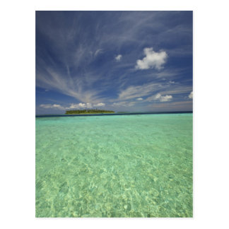Vista de la isla de Funadoo de Funadovilligilli 2 Postales