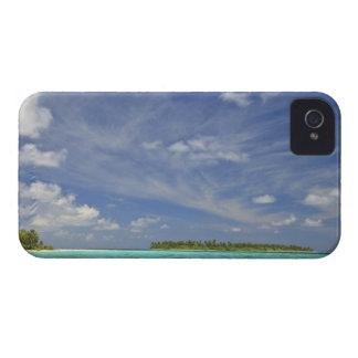 Vista de la isla de Funadoo de Funadovilligilli 3 iPhone 4 Case-Mate Carcasas