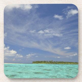 Vista de la isla de Funadoo de Funadovilligilli 3 Posavaso