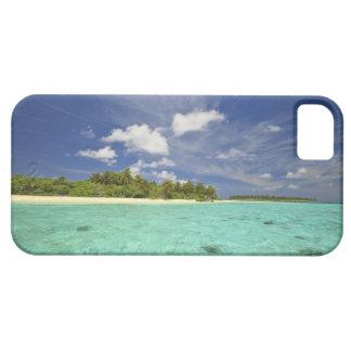 Vista de la isla de Funadoo de Funadovilligilli iPhone 5 Cárcasa