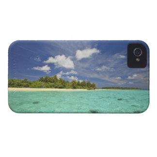 Vista de la isla de Funadoo de Funadovilligilli iPhone 4 Cárcasa
