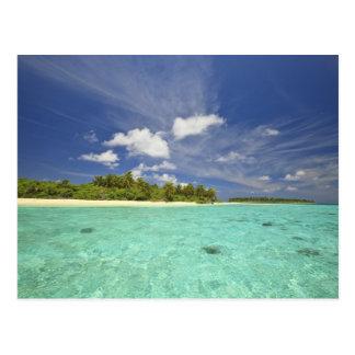 Vista de la isla de Funadoo de Funadovilligilli Postales