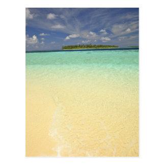 Vista de la isla de Funadoo de Funadovilligilli Tarjeta Postal